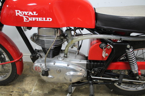 1966 Royal Enfield Continental GT 250cc Single With 5 speed SOLD (picture 6 of 6)