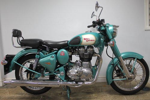 2012 Royal Enfield 500 cc Bullet Classic Electric Start 1500 SOLD (picture 1 of 6)
