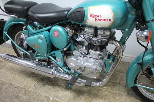 2012 Royal Enfield 500 cc Bullet Classic Electric Start 1500 SOLD (picture 2 of 6)