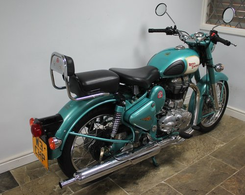2012 Royal Enfield 500 cc Bullet Classic Electric Start 1500 SOLD (picture 3 of 6)