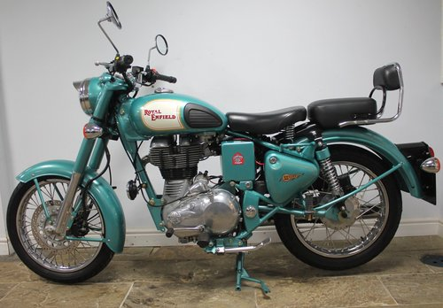 2012 Royal Enfield 500 cc Bullet Classic Electric Start 1500 SOLD (picture 4 of 6)