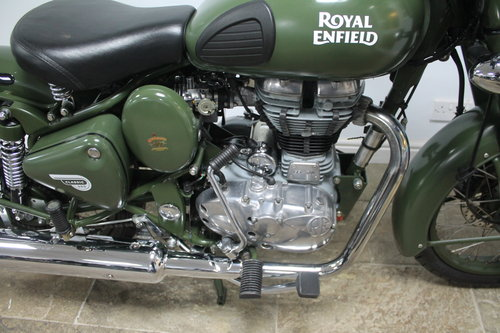 2015 Royal Enfield 500 cc EFi Bullet Classic Army 6800 miles SOLD (picture 3 of 6)