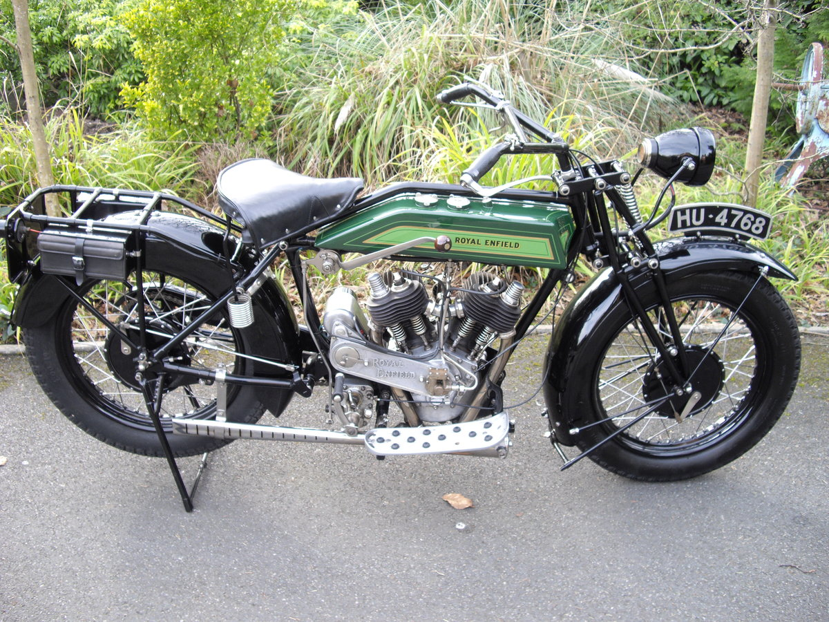 1925 Royal Enfield Model 190 1000cc V Twin For Sale (picture 3 of 6)
