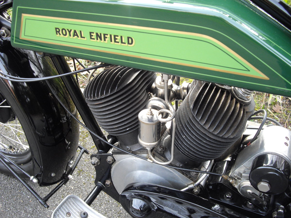 1925 Royal Enfield Model 190 1000cc V Twin For Sale (picture 5 of 6)