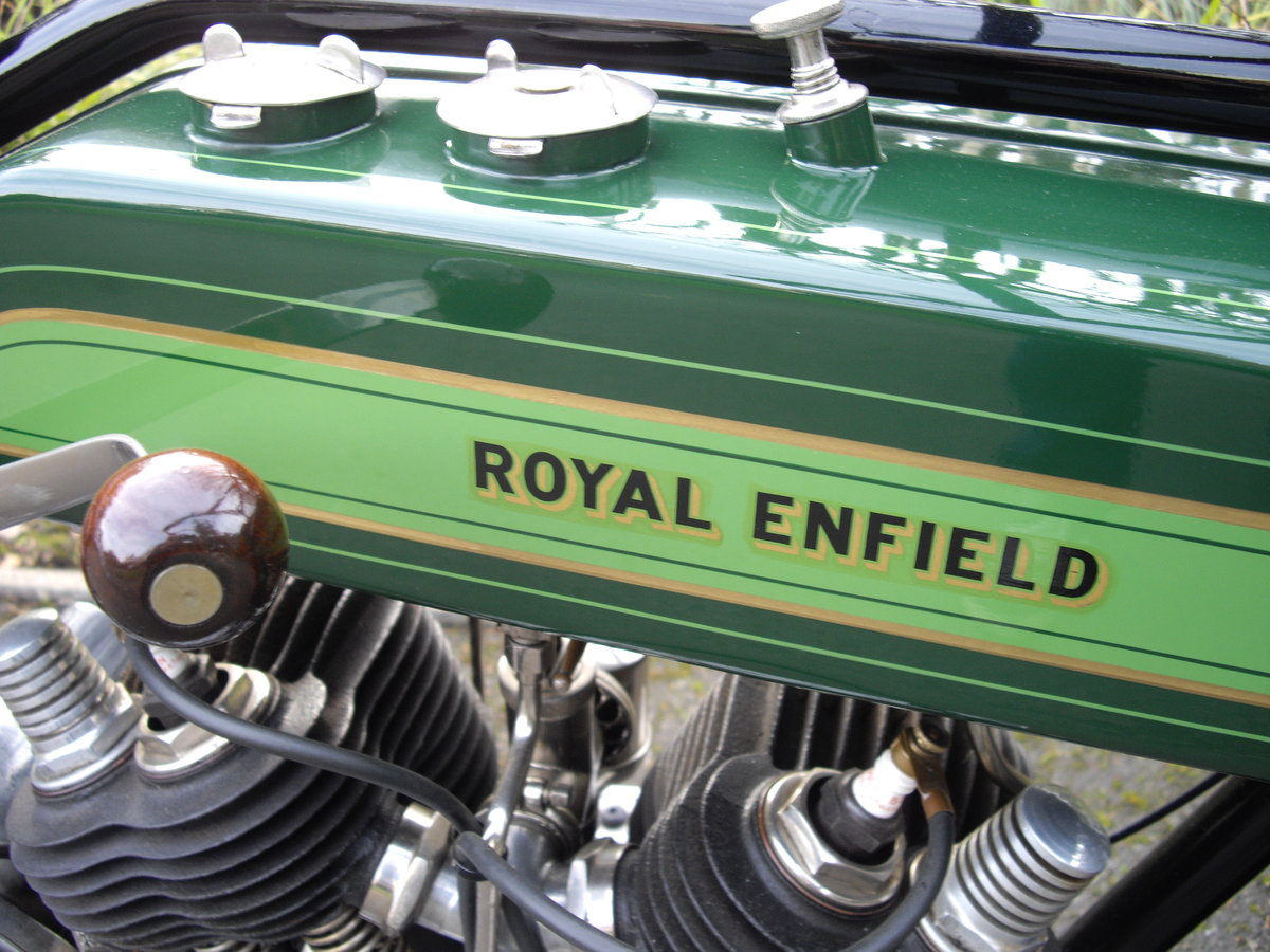 1925 Royal Enfield Model 190 1000cc V Twin For Sale (picture 6 of 6)