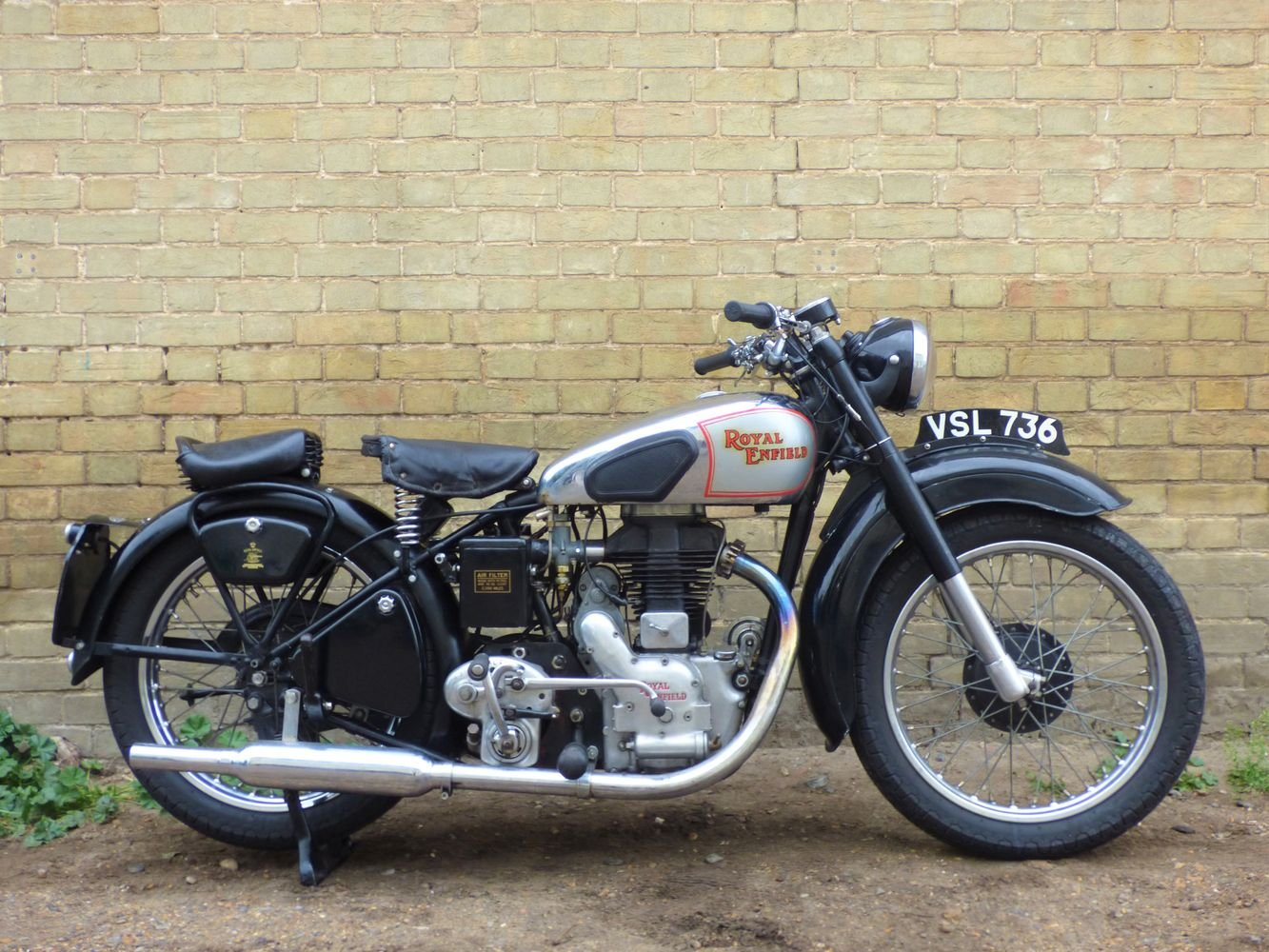 1949 Royal Enfield Model G 350cc SOLD (picture 1 of 6)