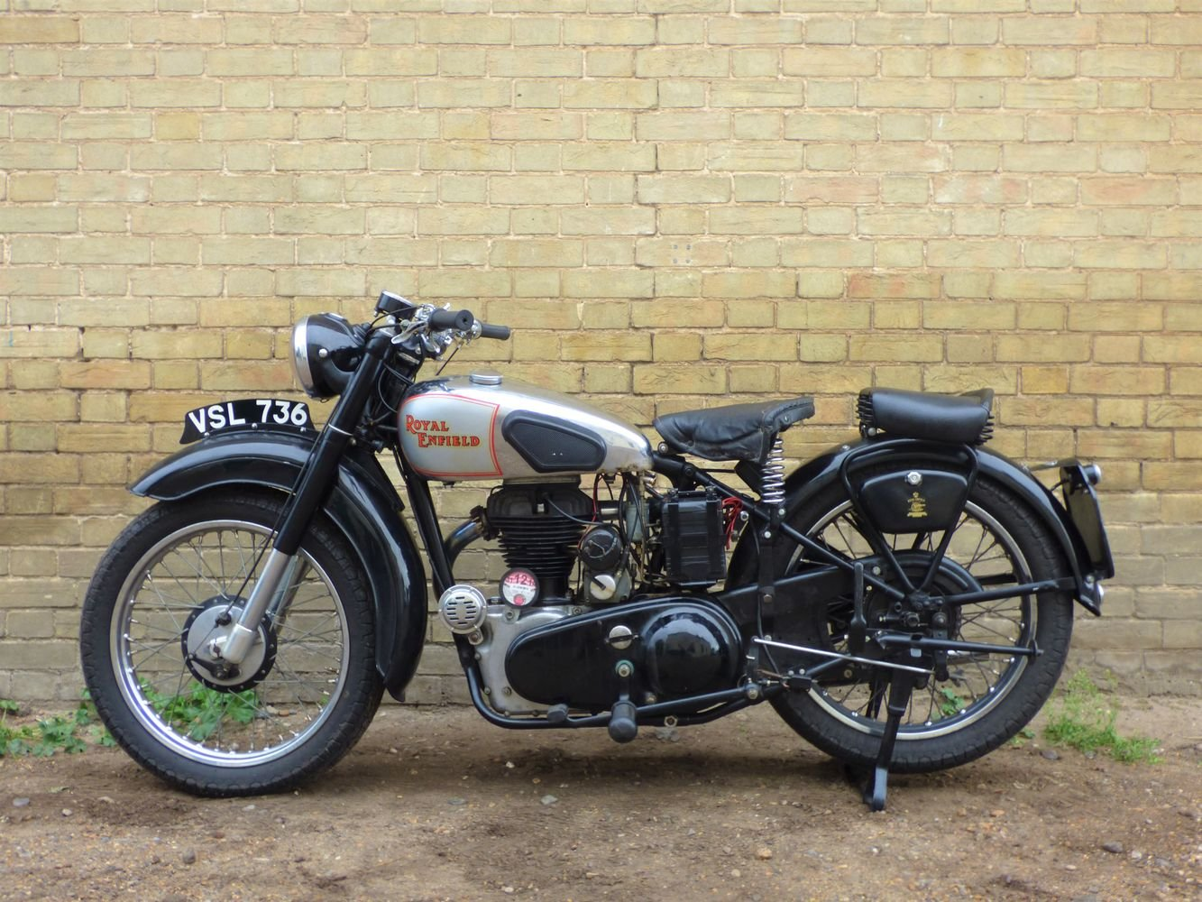 1949 Royal Enfield Model G 350cc SOLD (picture 2 of 6)
