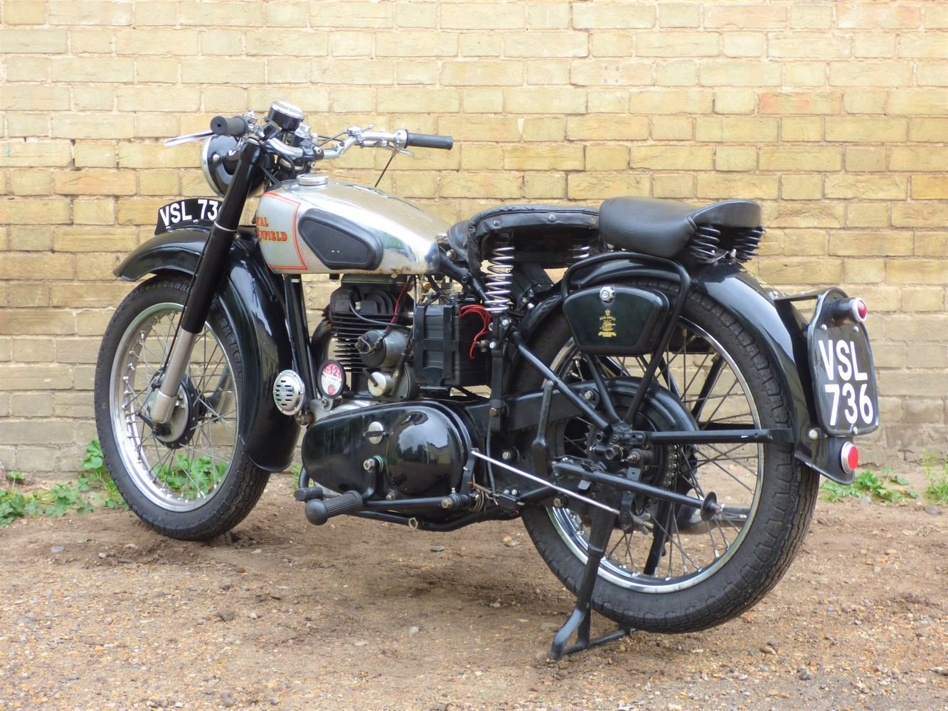 1949 Royal Enfield Model G 350cc SOLD (picture 5 of 6)