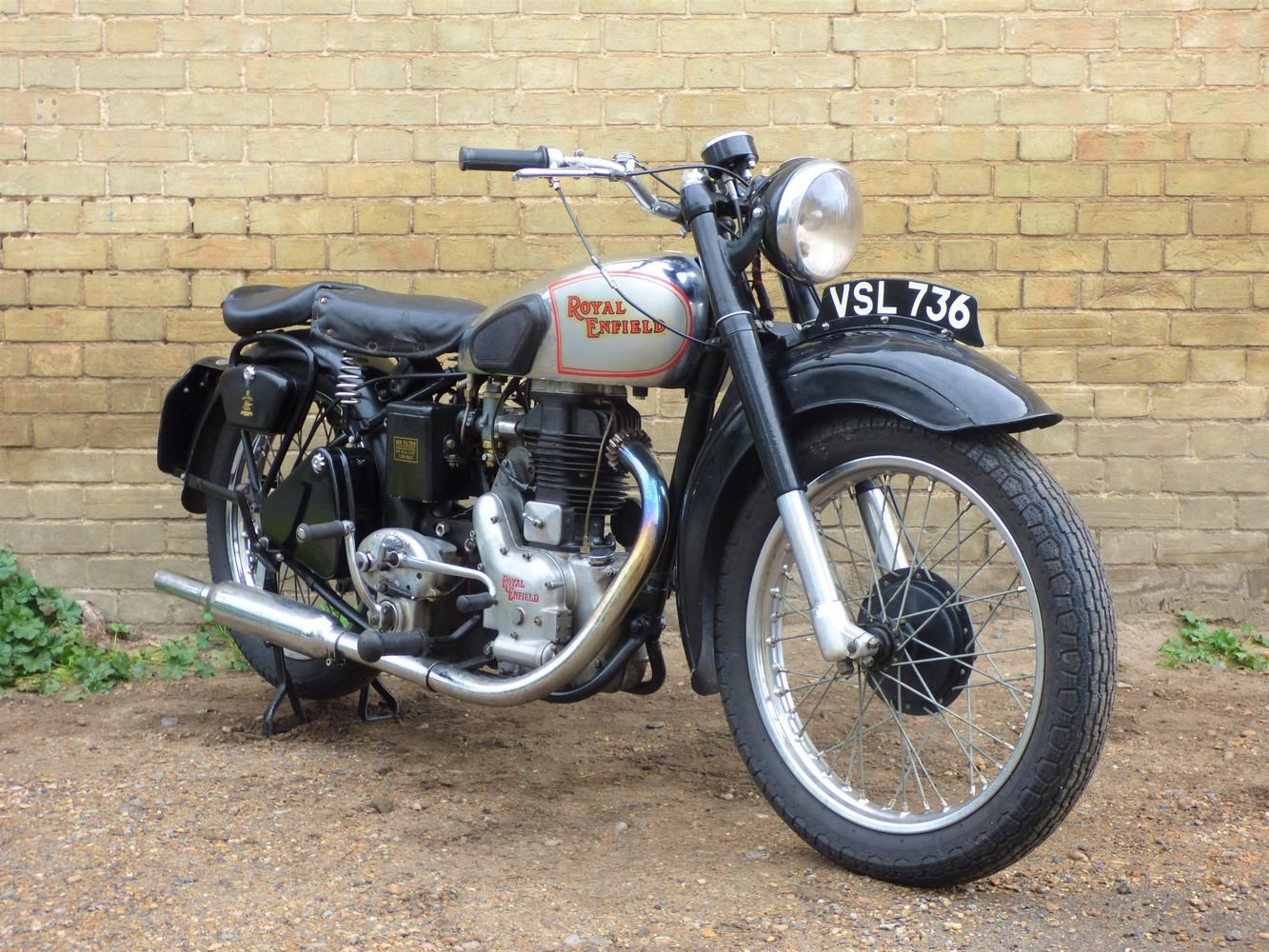 1949 Royal Enfield Model G 350cc SOLD (picture 6 of 6)