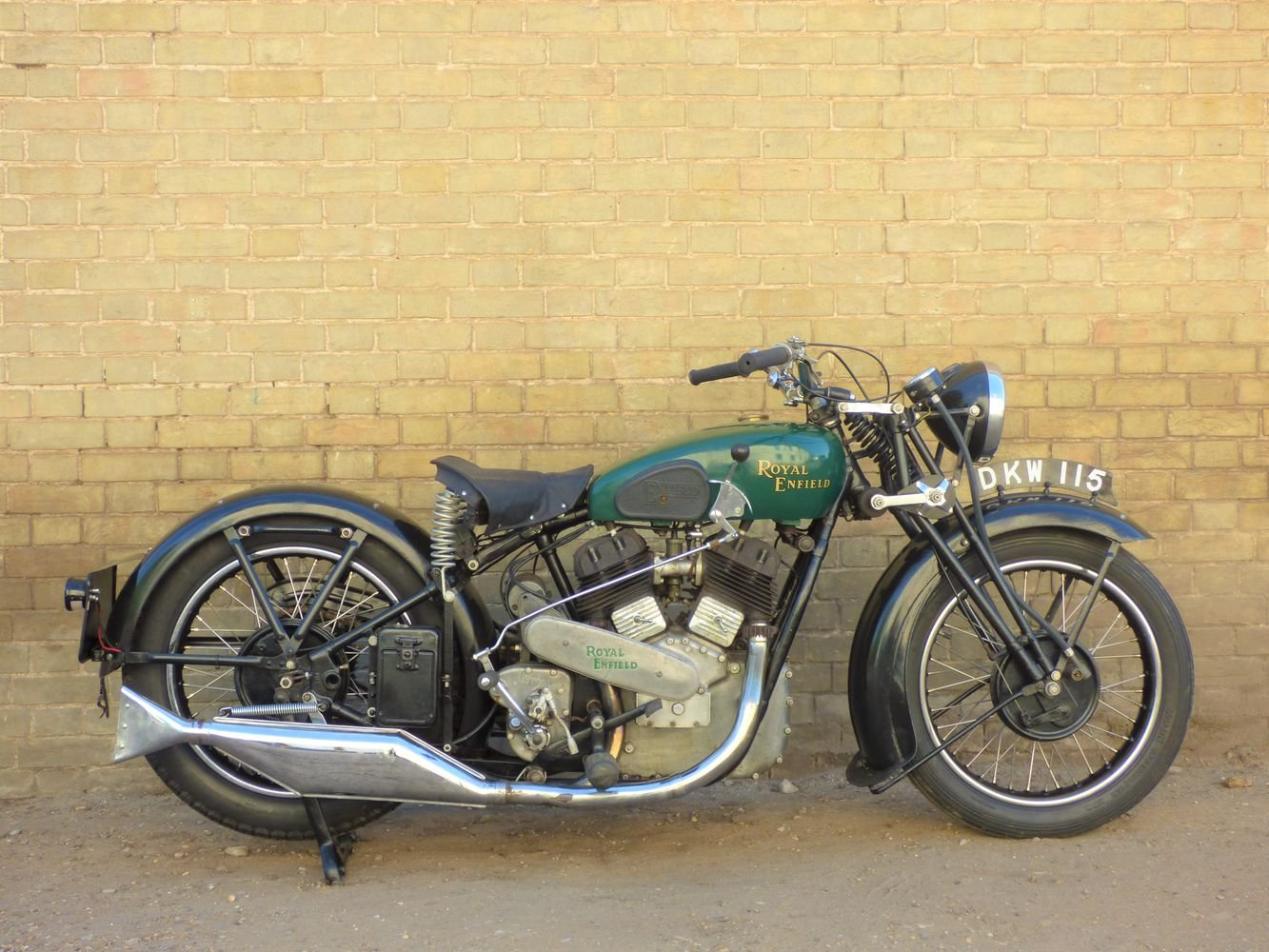 1940 Royal Enfield Model K 1140cc SOLD (picture 1 of 6)