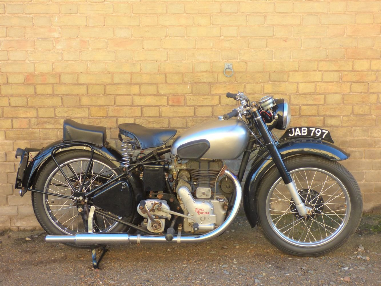1950 Royal Enfield Model G 350cc SOLD (picture 1 of 6)