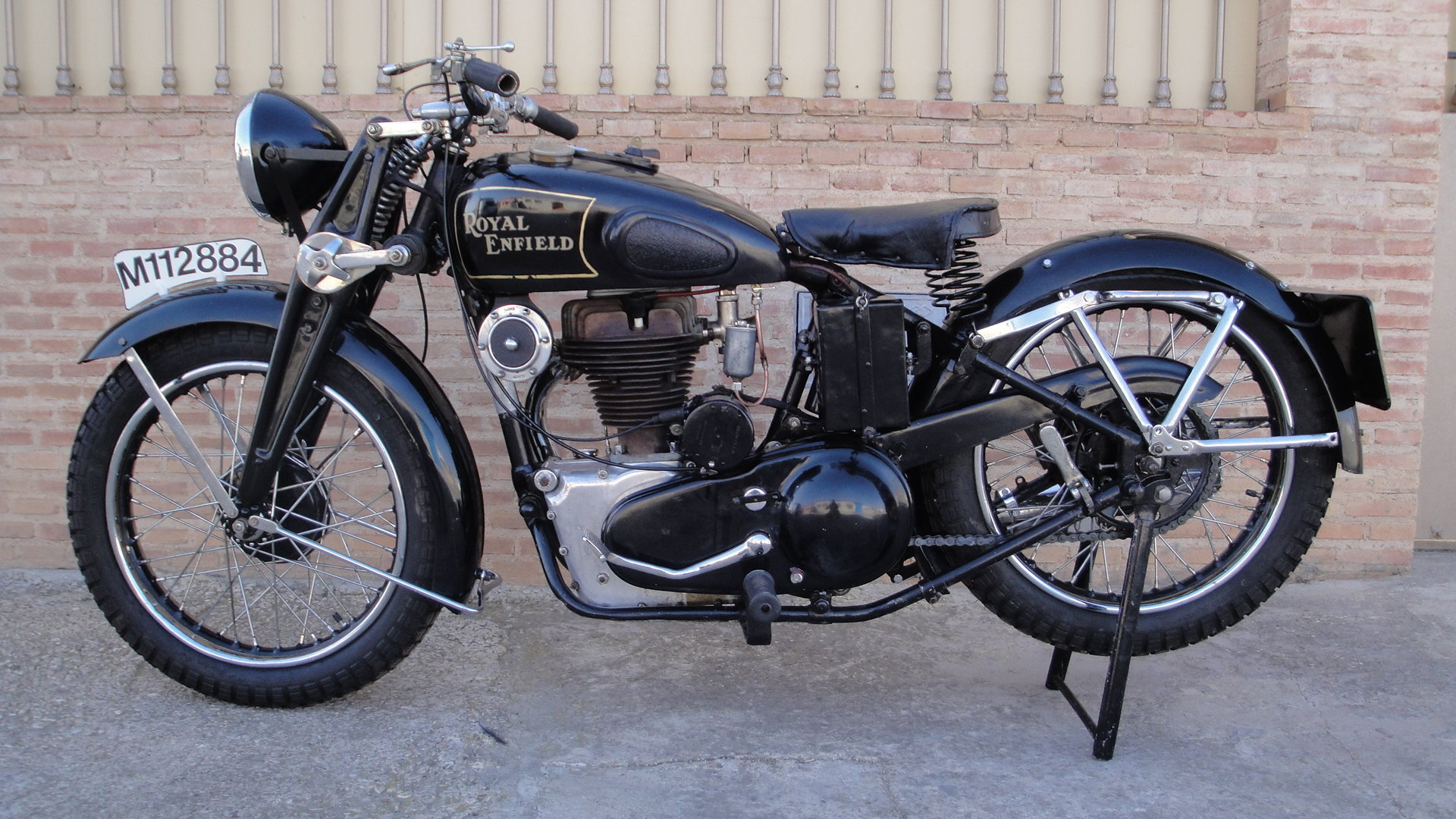 ROYAL ENFIELD J 500 OHV COMBINATION YEAR 1936 For Sale (picture 1 of 6)