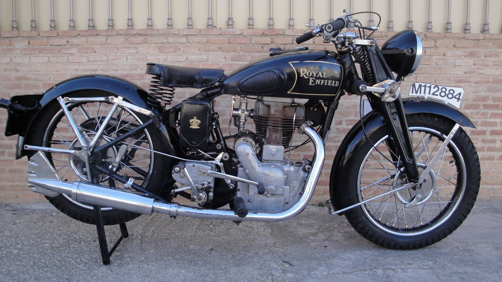 ROYAL ENFIELD J 500 OHV COMBINATION YEAR 1936 For Sale (picture 2 of 6)