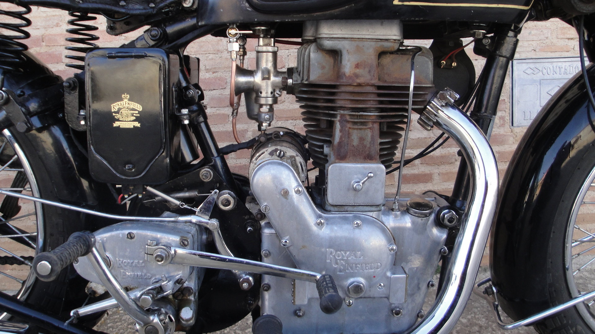 ROYAL ENFIELD J 500 OHV COMBINATION YEAR 1936 For Sale (picture 4 of 6)