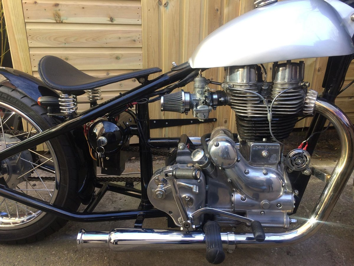 1995 Royal Enfield Bobber Hardtail For Sale (picture 4 of 6)