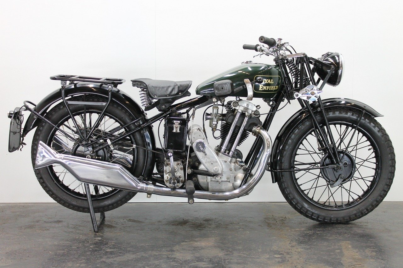 Royal Enfield Model J 1931 500cc 1 cyl ohv For Sale (picture 1 of 6)