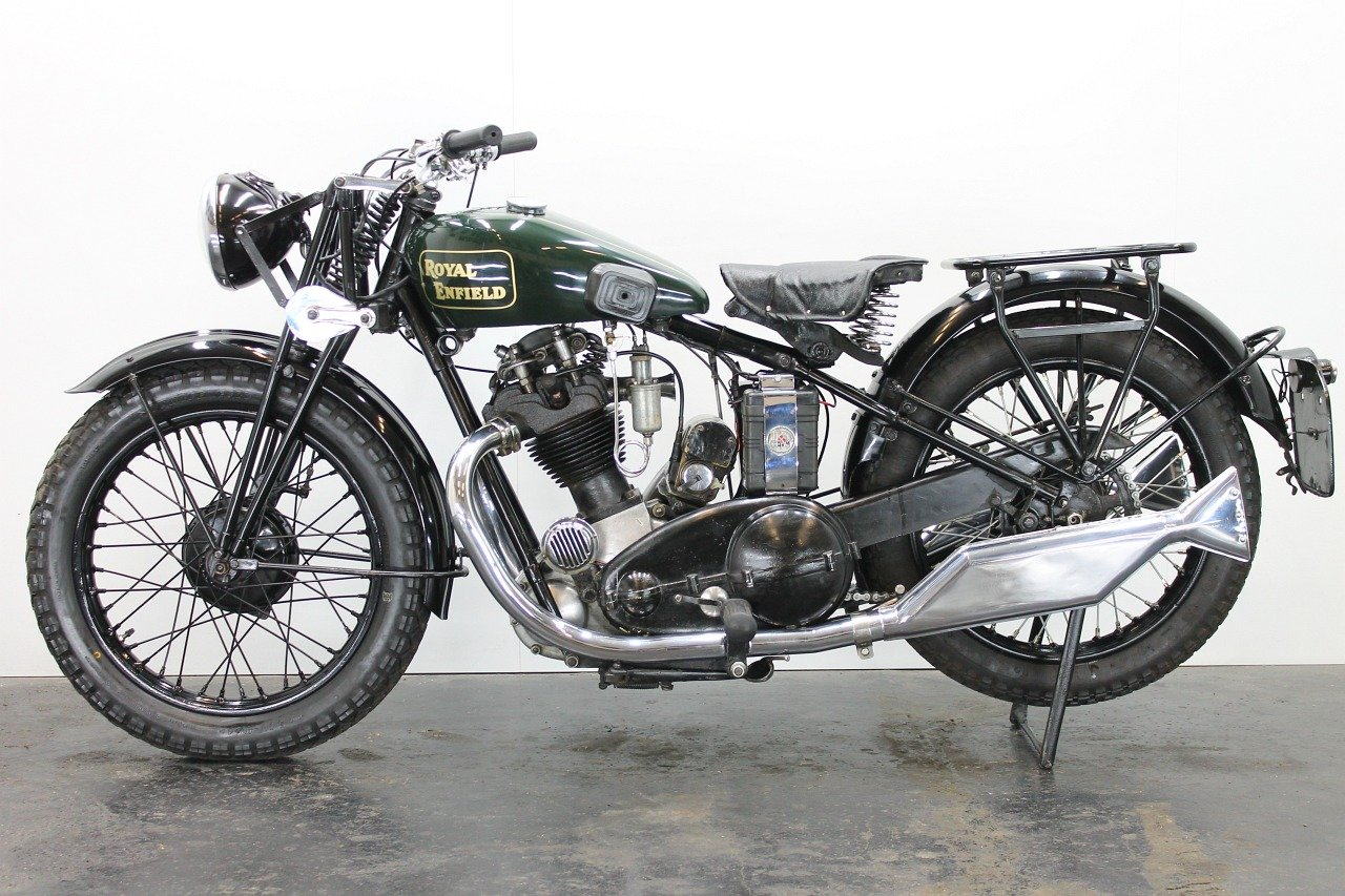 Royal Enfield Model J 1931 500cc 1 cyl ohv For Sale (picture 2 of 6)