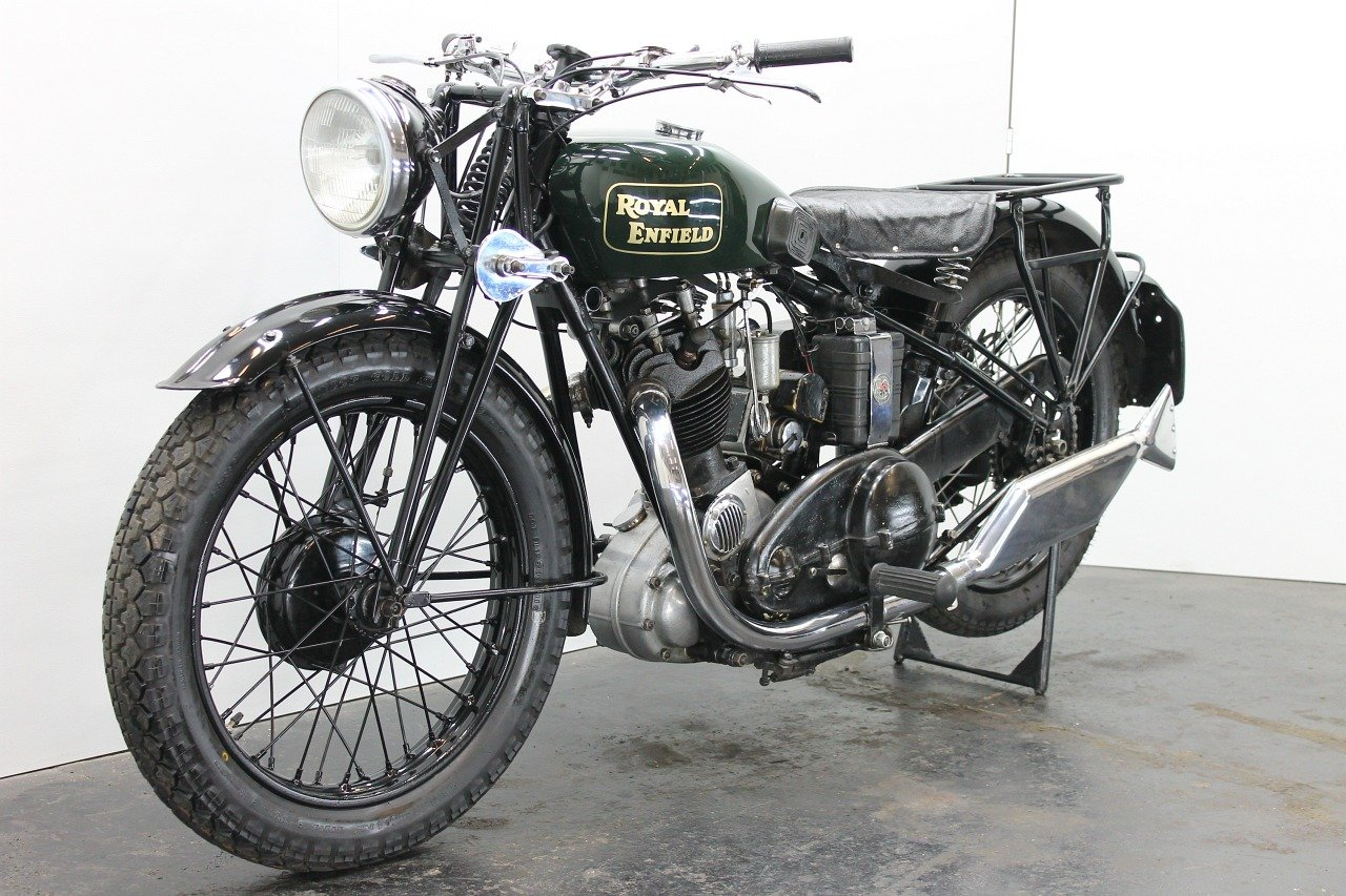 Royal Enfield Model J 1931 500cc 1 cyl ohv For Sale (picture 3 of 6)