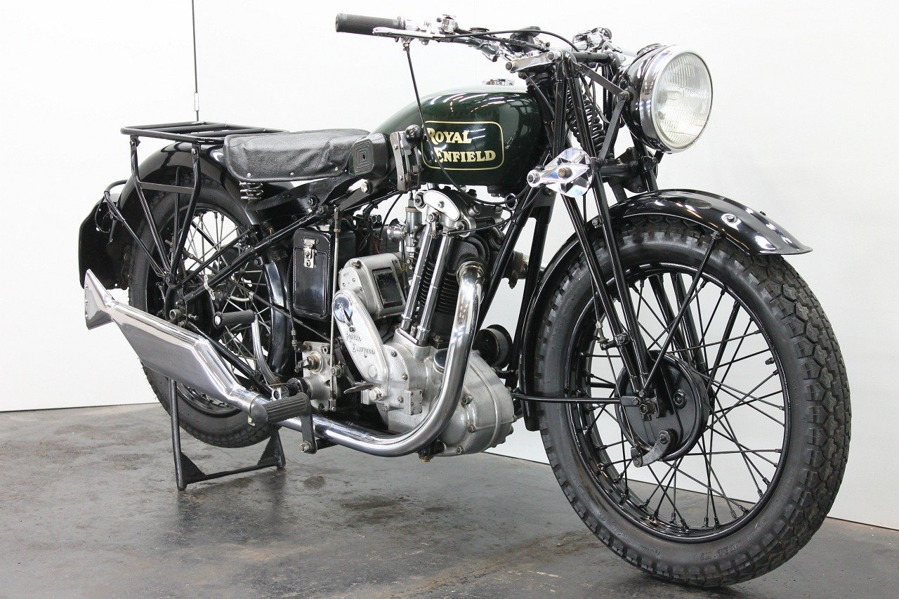 Royal Enfield Model J 1931 500cc 1 cyl ohv For Sale (picture 4 of 6)