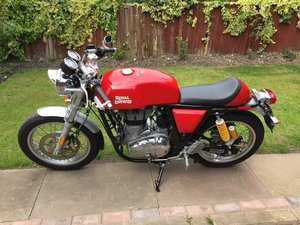 2017 Royal Enfield continental GT euro 4 low mileage