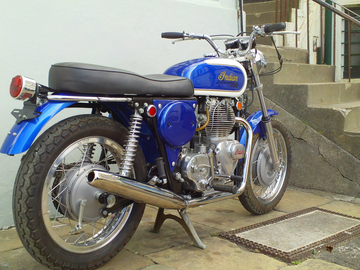 ROYAL ENFIELD INTERCEPTOR 750 INDIAN  FLOYD CLYMER For Sale (picture 2 of 6)
