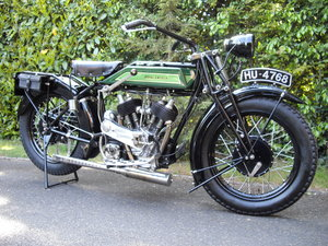 1925 Royal Enfield Model 190 1000cc V Twin