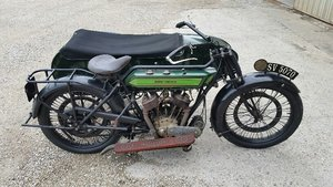 1920 Royal Enfield with sidecar