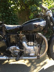 Royal enfield j2 1953. original and unrestored.