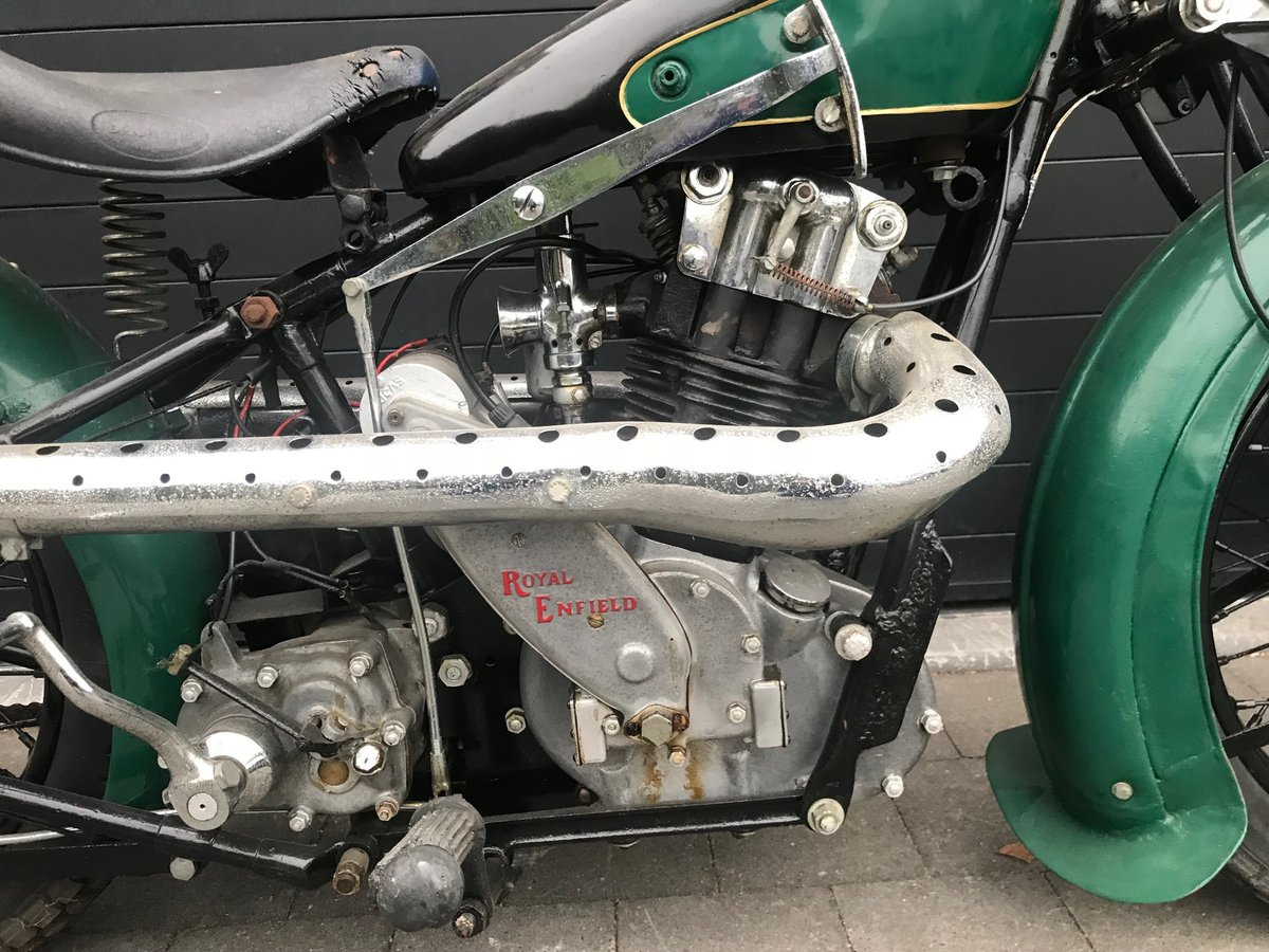 1932 Royal Enfield - Bullet LF Special  500cc 4 valve s For Sale (picture 2 of 6)