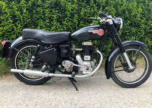 Royal-Enfield - SF   low mile