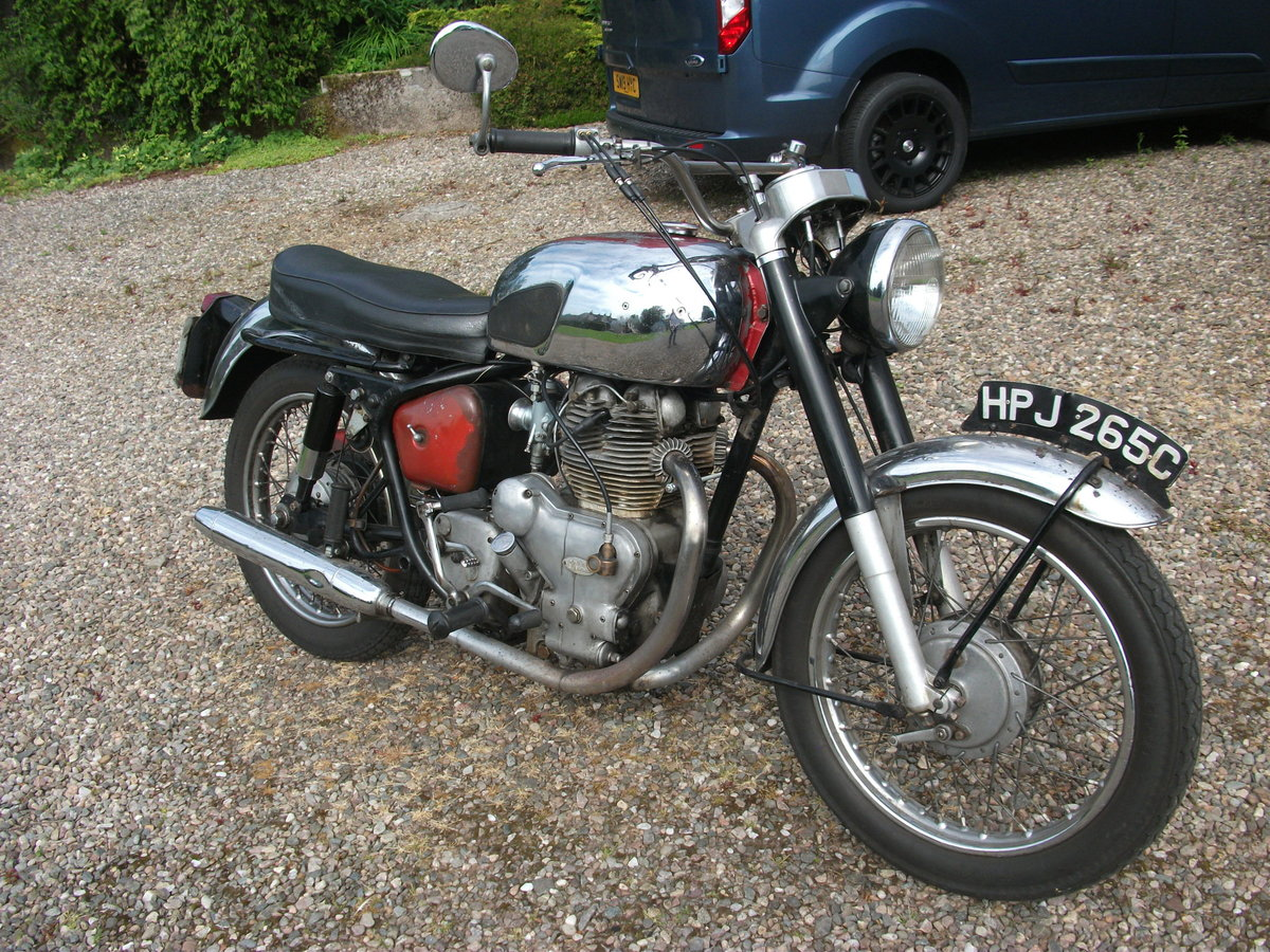 1965 Royal Enfield Interceptor Mk1 SOLD (picture 1 of 6)