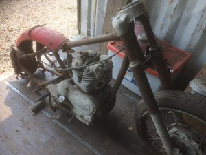 1954 Royal Enfield 500 Project For Sale