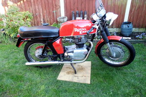 1969 Royal Enfield Continental GT for Auction Friday 12th July For Sale by Auction