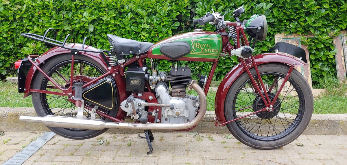 Royal Enfield 350cc model C - 1938 SOLD (picture 1 of 6)