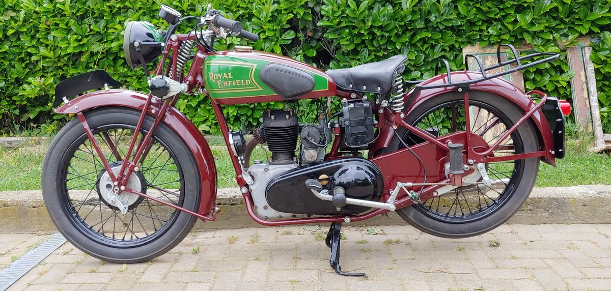 Royal Enfield 350cc model C - 1938 SOLD (picture 2 of 6)