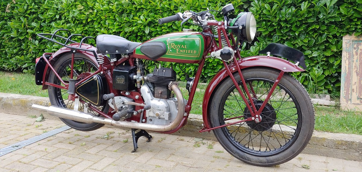 Royal Enfield 350cc model C - 1938 SOLD (picture 3 of 6)