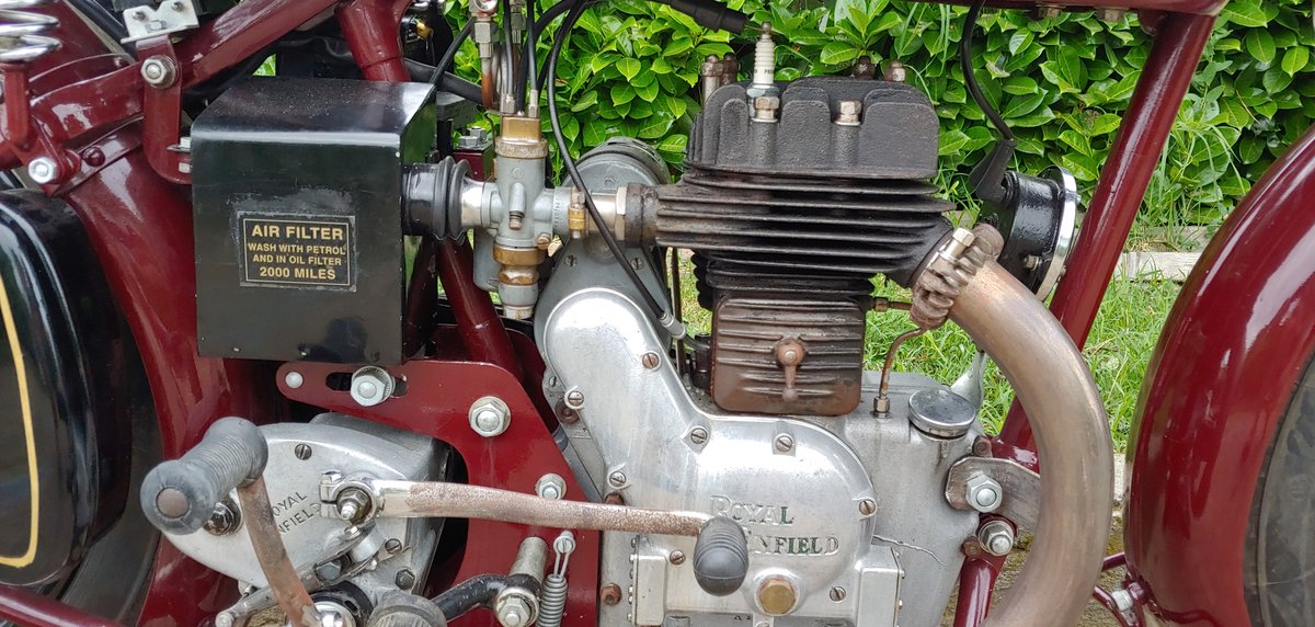 Royal Enfield 350cc model C - 1938 For Sale (picture 4 of 6)