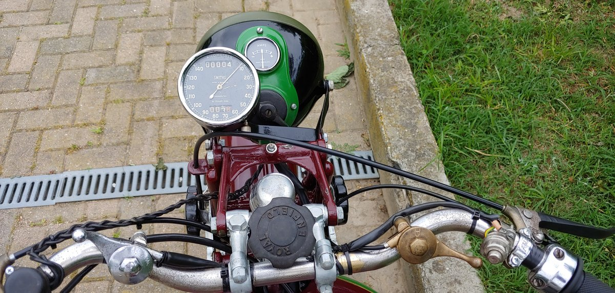 Royal Enfield 350cc model C - 1938 For Sale (picture 5 of 6)