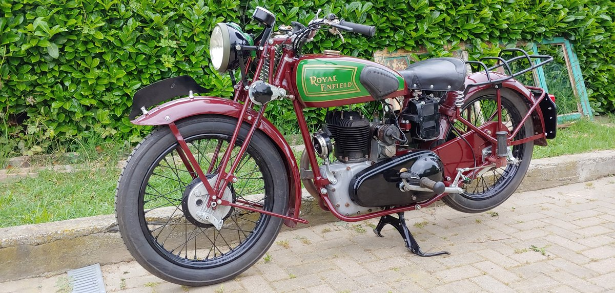 Royal Enfield 350cc model C - 1938 SOLD (picture 6 of 6)