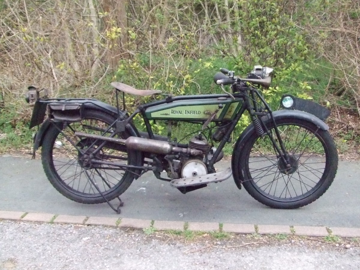 1926 Royal Enfield 201, fitted with Villiers 125cc For Sale (picture 1 of 6)