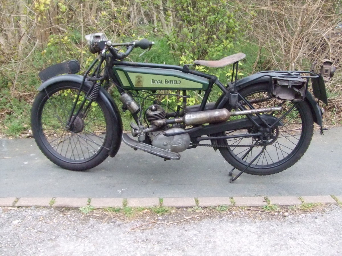 1926 Royal Enfield 201, fitted with Villiers 125cc For Sale (picture 2 of 6)