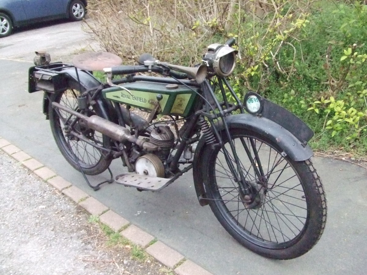 1926 Royal Enfield 201, fitted with Villiers 125cc For Sale (picture 3 of 6)
