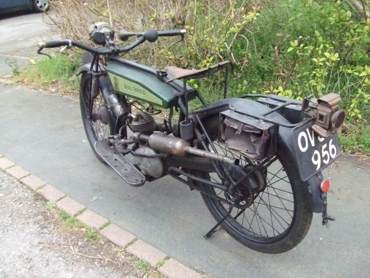 1926 Royal Enfield 201, fitted with Villiers 125cc For Sale (picture 4 of 6)
