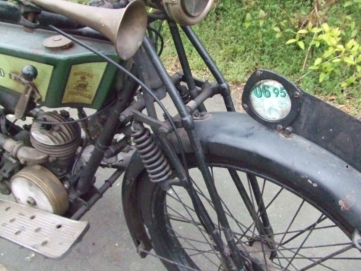1926 Royal Enfield 201, fitted with Villiers 125cc For Sale (picture 6 of 6)