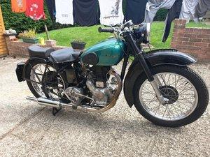 1947 Royal Enfield Model G. 350cc. V5C. Good Runner.