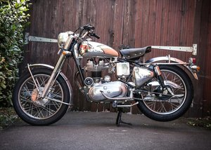 1977 Royal Enfield Silver Bullet (350cc) SOLD by Auction