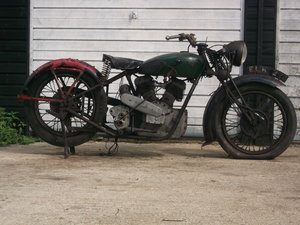 1939 Royal Enfield model K, v twin project For Sale