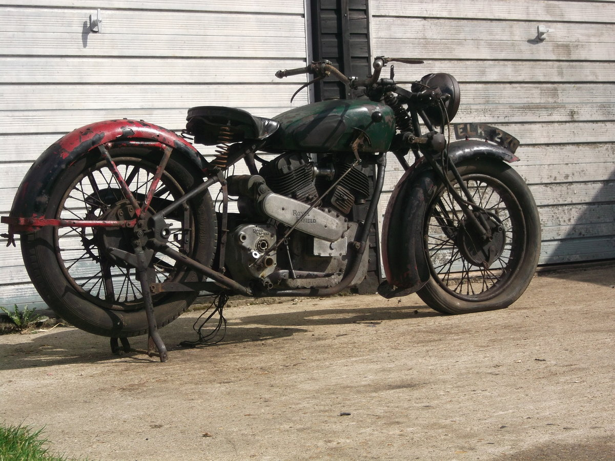 1939 Royal Enfield model K, v twin project For Sale (picture 2 of 6)