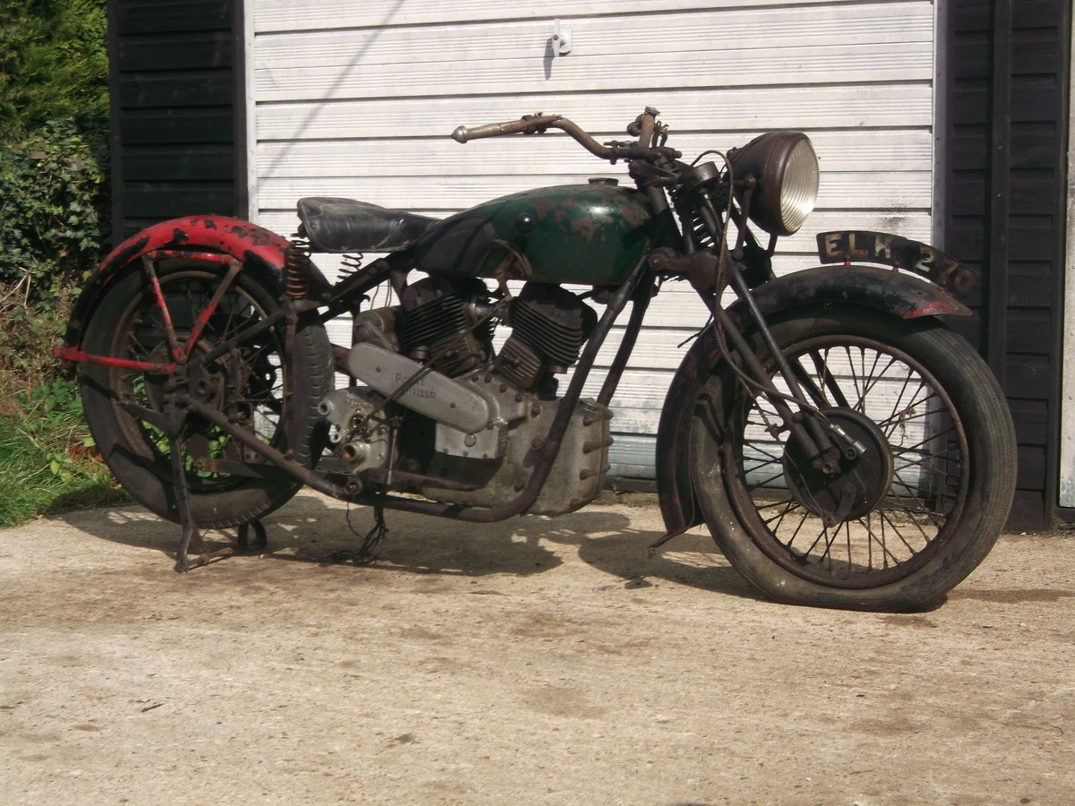 1939 Royal Enfield model K, v twin project For Sale (picture 3 of 6)