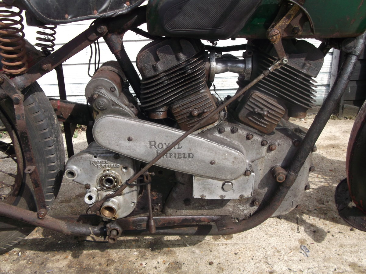 1939 Royal Enfield model K, v twin project For Sale (picture 4 of 6)